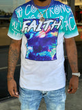 "White ""Faith"" Graphic Shirt"