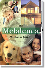 The cover of the Melaleuca Wellness Guide