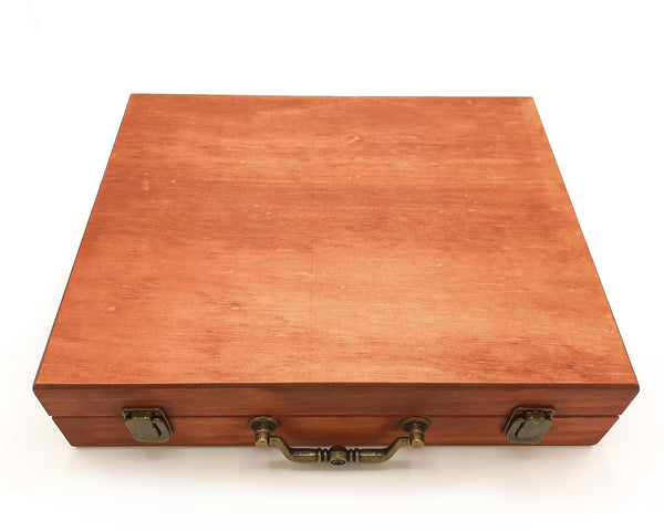 Large Cherrywood Painted Essential Oils Box