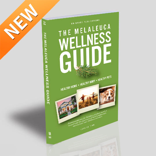 (Out of stock. In stock at AMAZON. More on the way. Taking backorders.) The Melaleuca Wellness Guide - 16th Edition