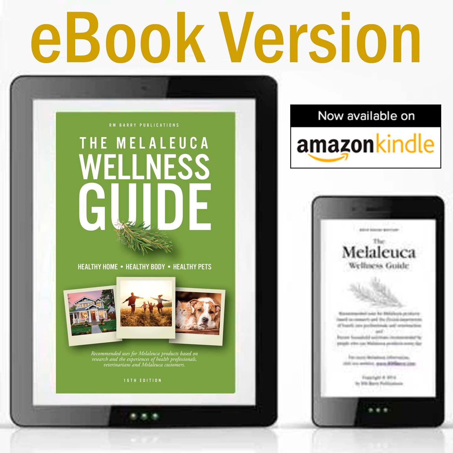eBook:  The Melaleuca Wellness Guide