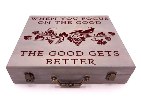 When You Focus On The Good The Good Gets Better