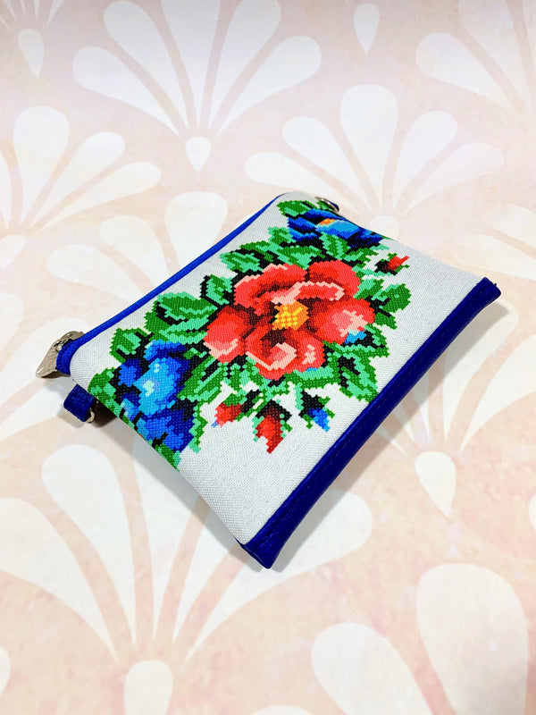 "Girl's Cross-Body Purse ""Flowers"""