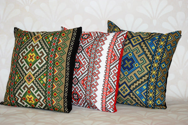 "Decorative Pillow - ""Traditional"""
