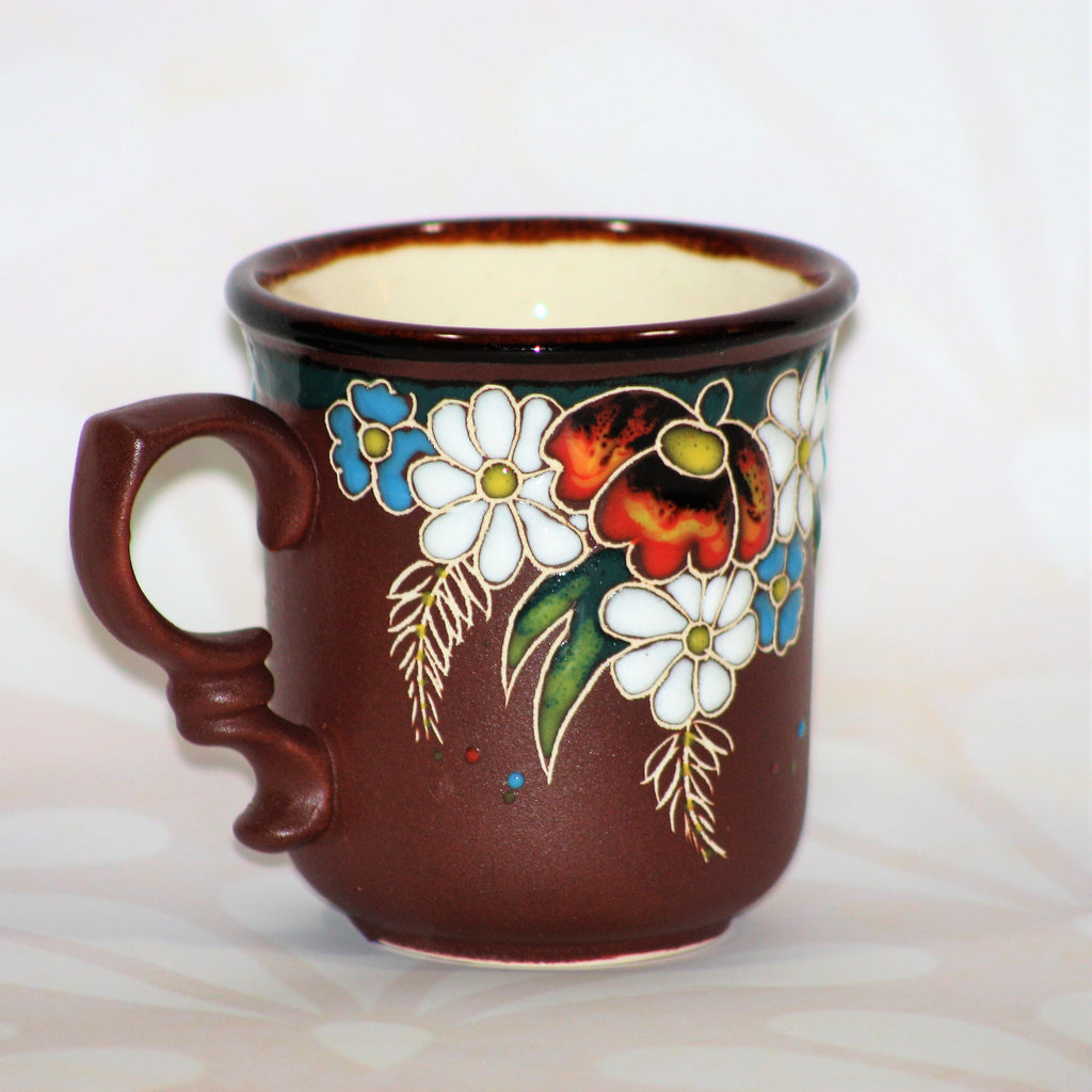 "Tea Mug ""Flowers"" - 350 ml"