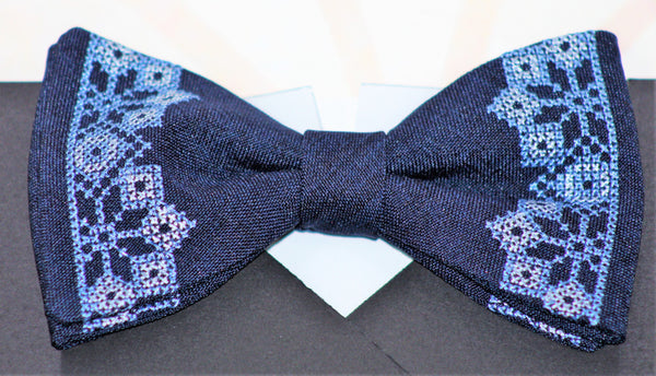 Men's Embroidered Bowties - Various Colours