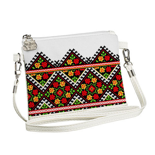 "Girl's Cross-Body Purse ""Roses"""