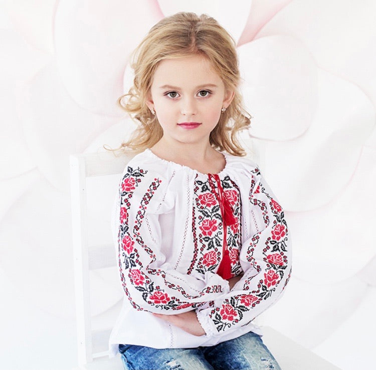 Girl's Poltava Blouse