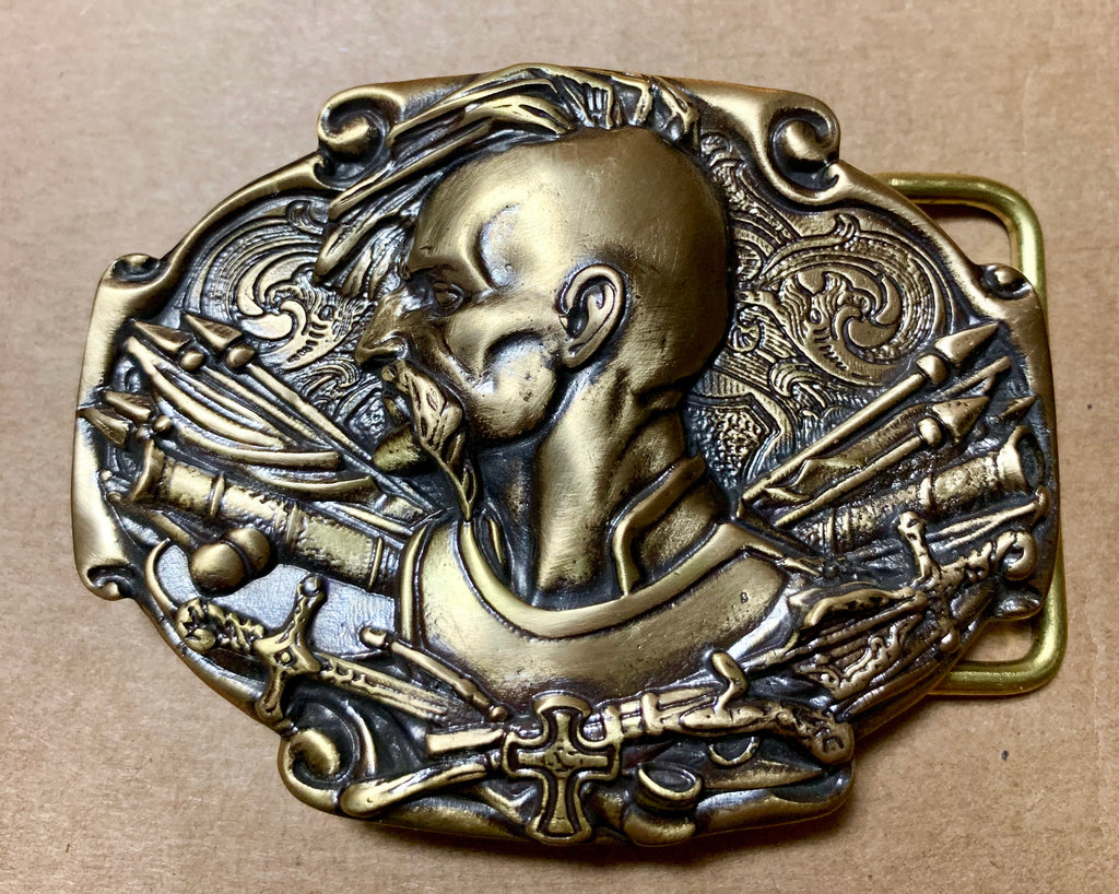 "Belt Buckle - ""Kozak"""