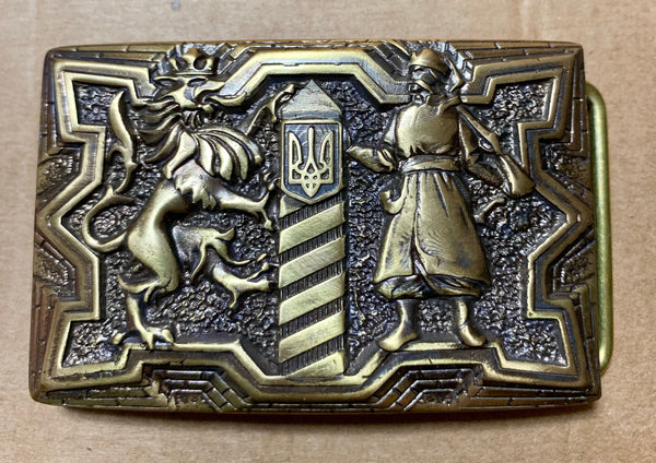 "Belt Buckle - ""Guardians"""