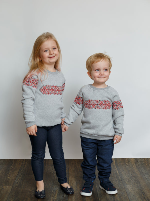 Children's Sweatshirt with Embroidery