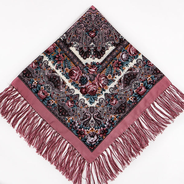 Chic Shawl - Dusty Rose