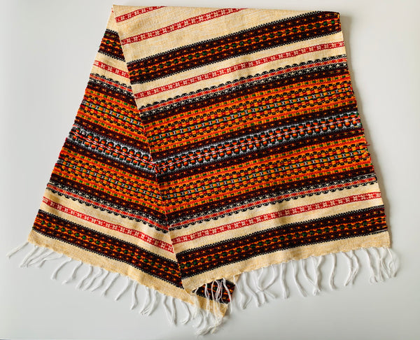 Woven Table Runner- Beige