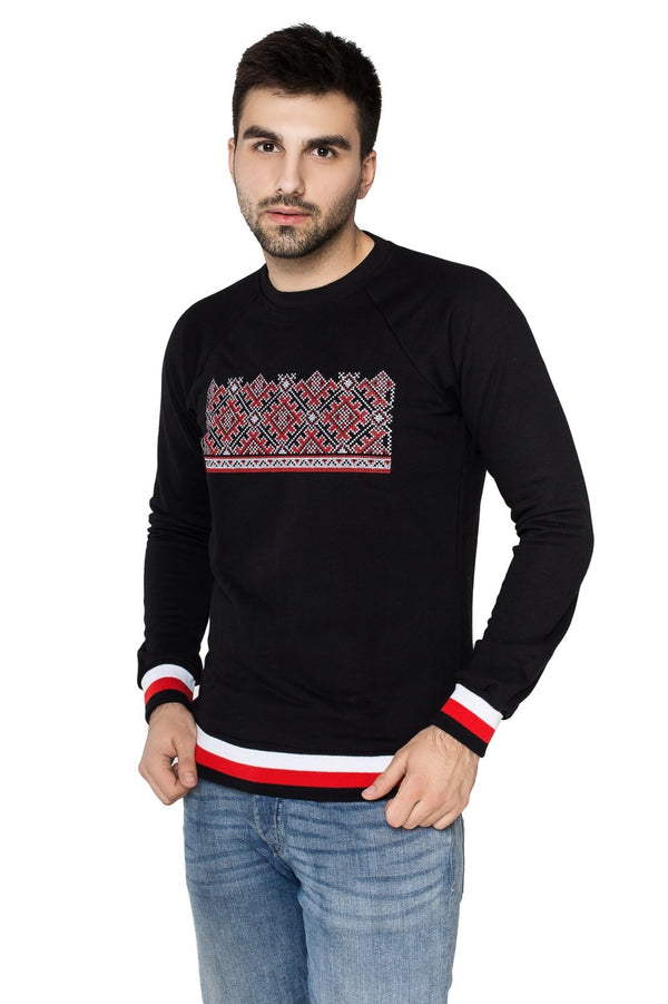 Men's Embroidered Sweatshirt
