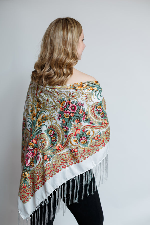 Chic Shawl - Yellow Lily