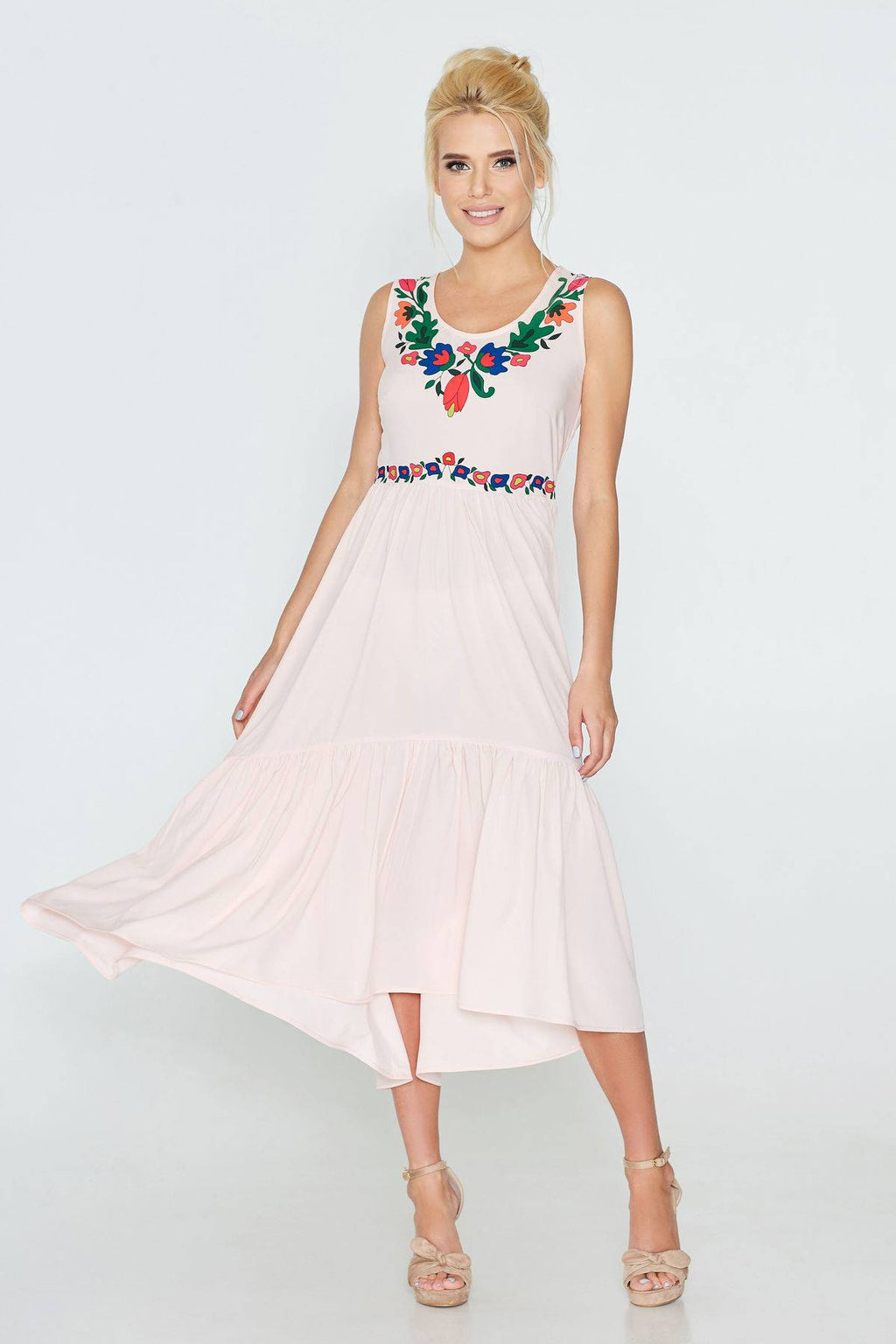 Sleeveless Summer Dress - Various Colours