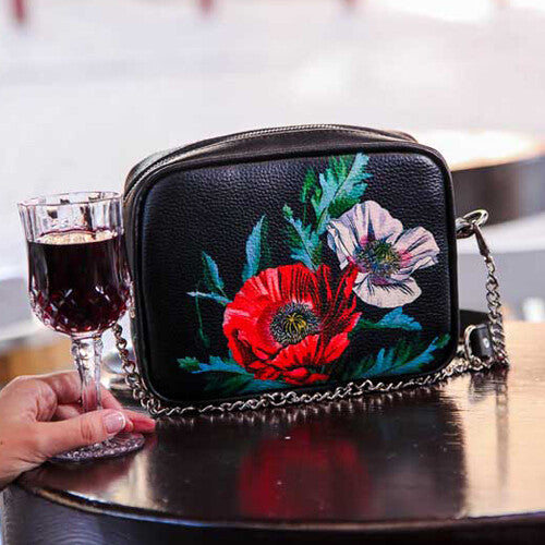 "Small Purse ""Poppies"""