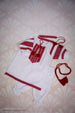Baby Girl Red Embroidered Set
