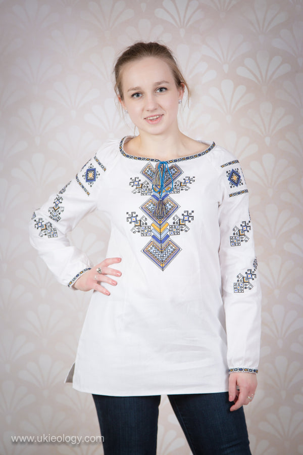 "Embroidered Blouse ""Tree of Life"""