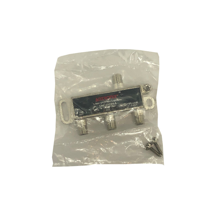 Antronix High Performance 3-Way Cable TV Splitter CMC2003H-A OTA Coaxial 5-1002M