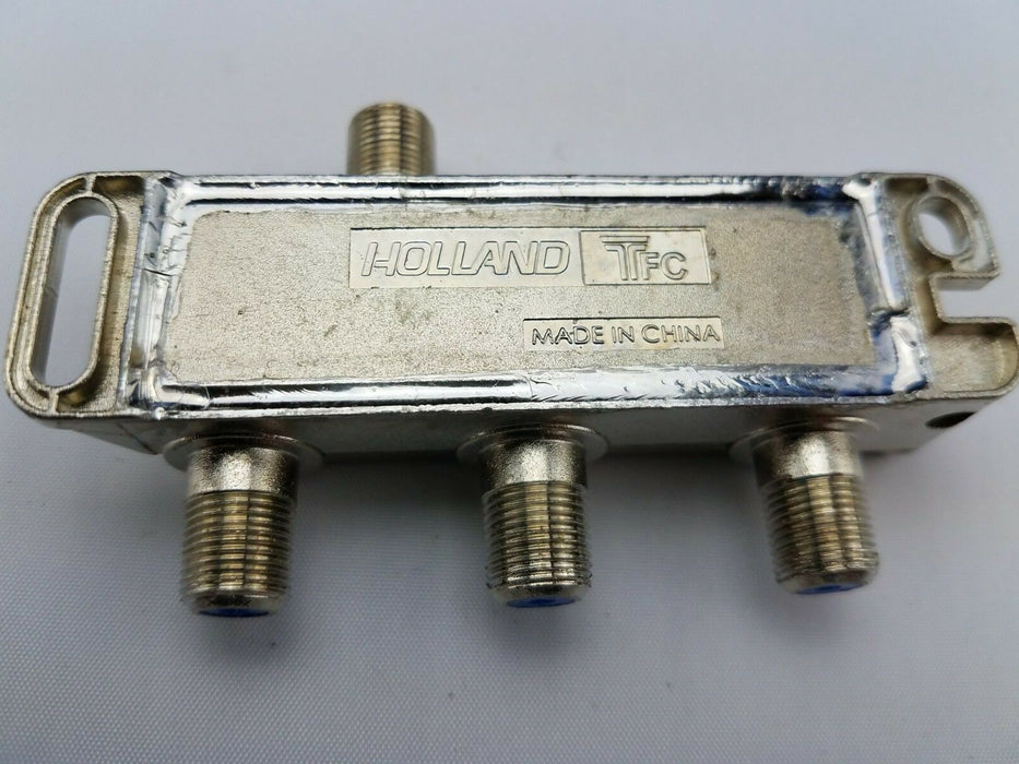 GHS-3BPRO-M CATV MoCA Rated 3-Way Balanced Splitter - Holland Electronics - NEW