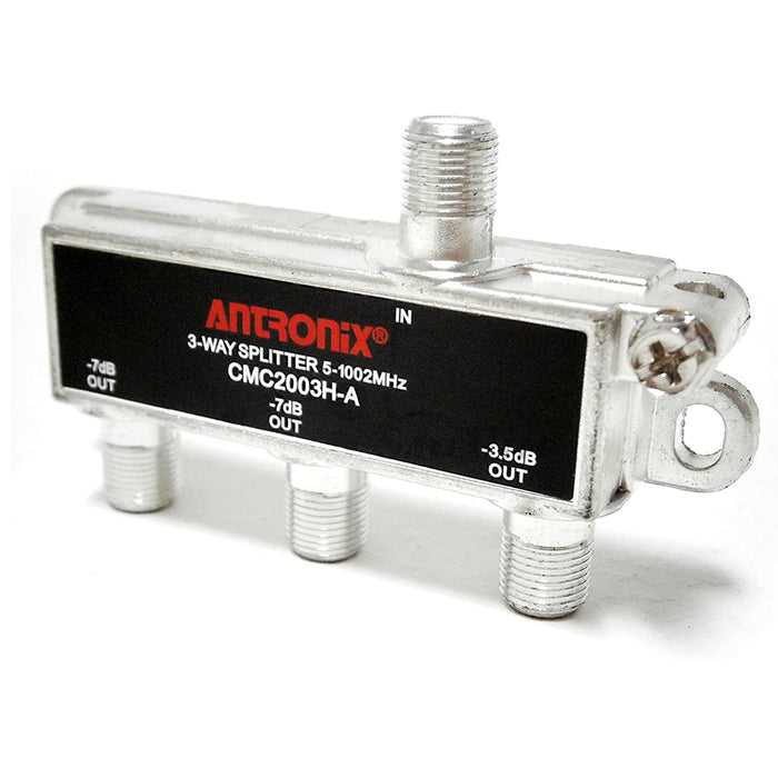 Antronix 3-Way Coaxial Cable Splitter CMC2003H-A