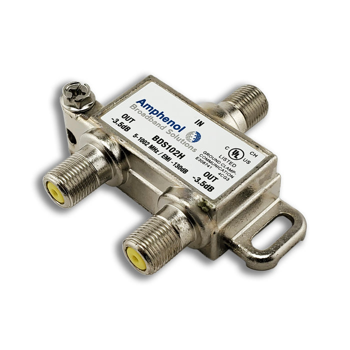 Extreme/Amphenol 2-Way Digital 1Ghz High Performance Coax Cable Splitter BDS102H