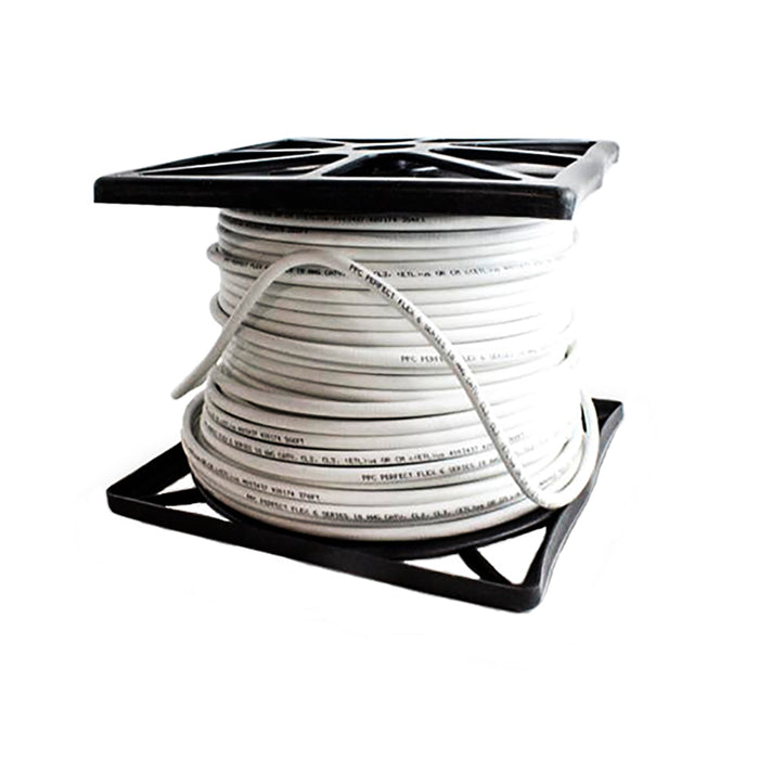 Perfectflex Coaxial Cable 6 Series 500Ft RG6 Trishield 77Braid Copper Clad Steel