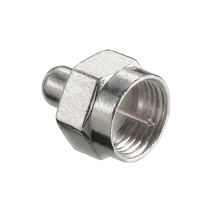 SatelliteSale F Type 75 Ohm Terminator Connector - 10 Pack