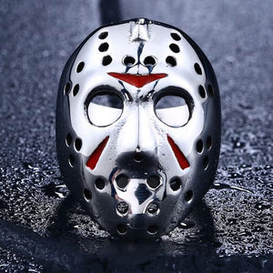 LIMITED EXCLUSIVE 316 L STAINLESS STEEL CLASSIC JASON MASK RING