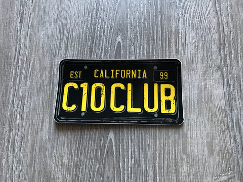 C10 Club Legacy Sticker