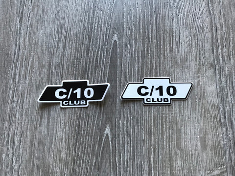 C/10 Club Sticker