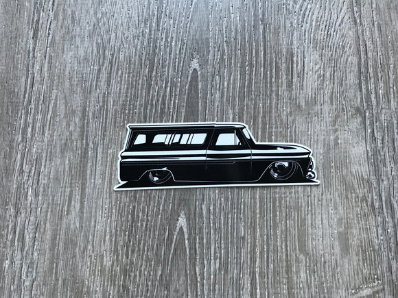 Laid Out Suburban Sticker