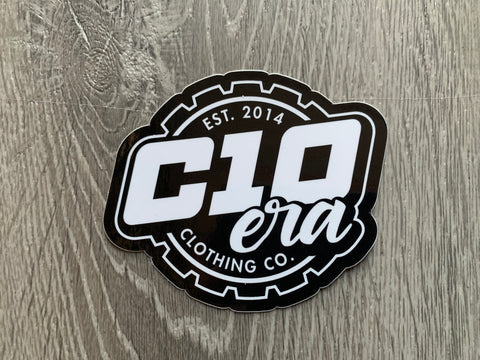 C10 ERA Gear Logo Sticker