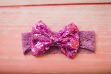 Sparkle Bow Headband