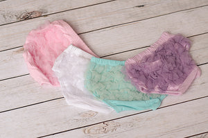 Tulle Ruffled Bloomers