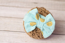 Bow Polka Dot Headband