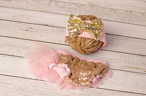 Gold Sequined Bloomers
