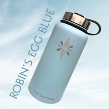 Right Here Right Now 32oz Mindful Water Bottle - Who Doesn't Need A Reminder To Be Present On Their Favorite Water Bottle?