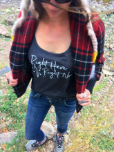 Right Here Right Now  <div><b>BE AMAZING Ladies Tank </b></div>