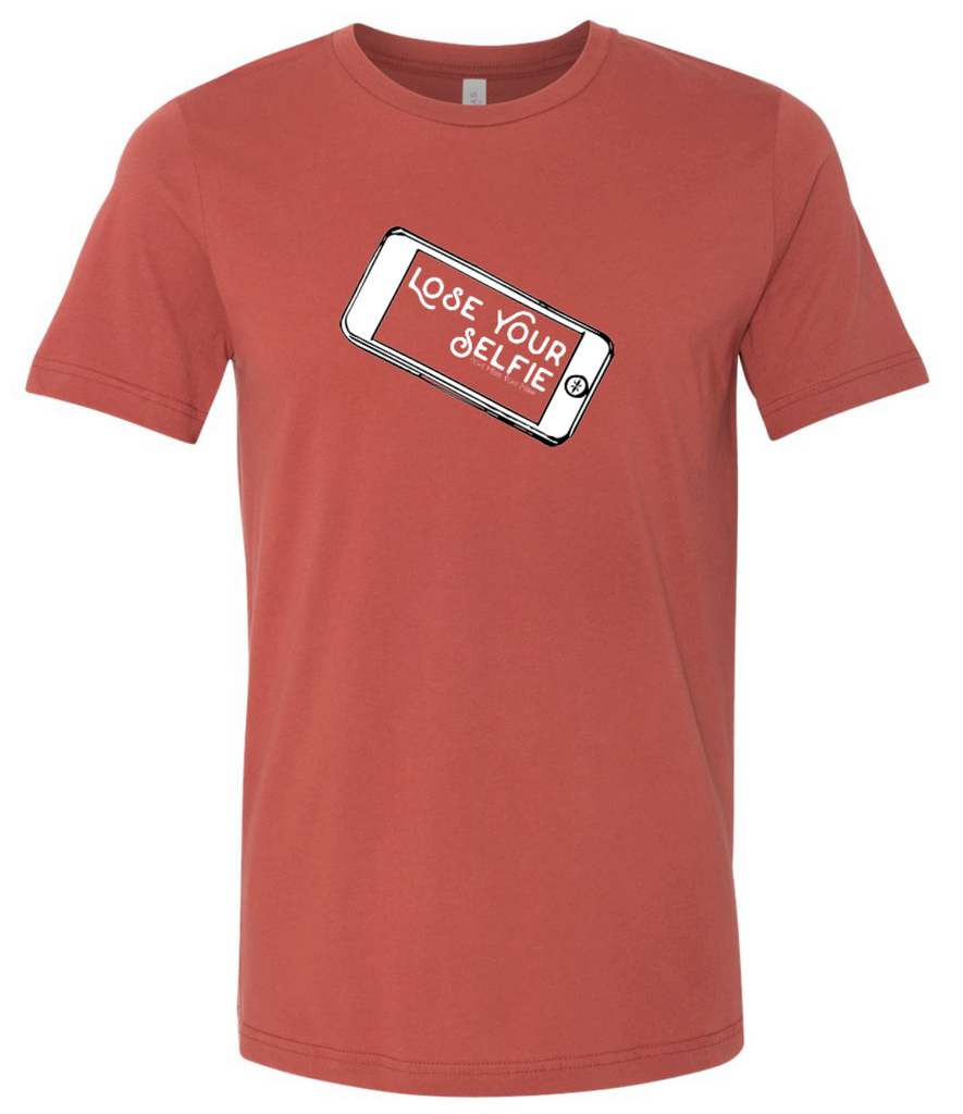 Lose Your Selfie - Mens Tee