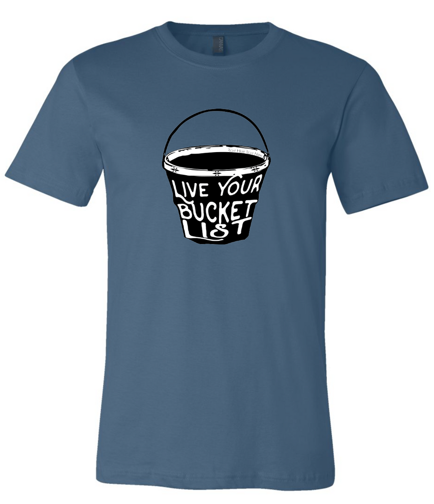 Live Your Bucket List - Mens Tee