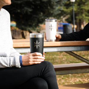 Right Here Right Now 20oz Tumbler - Who Doesn't Need A Reminder To Be Present On Their Favorite Mug?