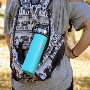 Right Here Right Now 22oz Mindful Water Bottle
