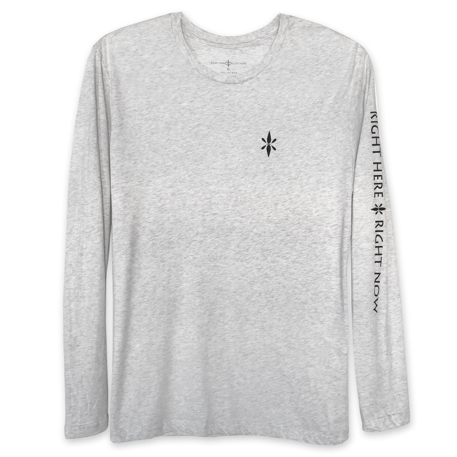 Long Sleeve Tee (Heather White)