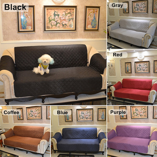 three seater multiseater sofa slipcover protector cover suede pet dog couch sofa scratch