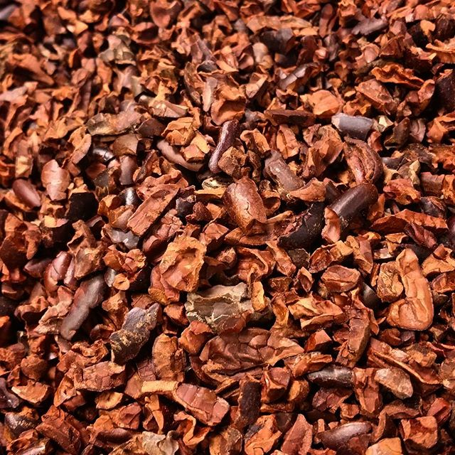 Roasted Cocoa Nibs - Dominican Republic (organic origin)