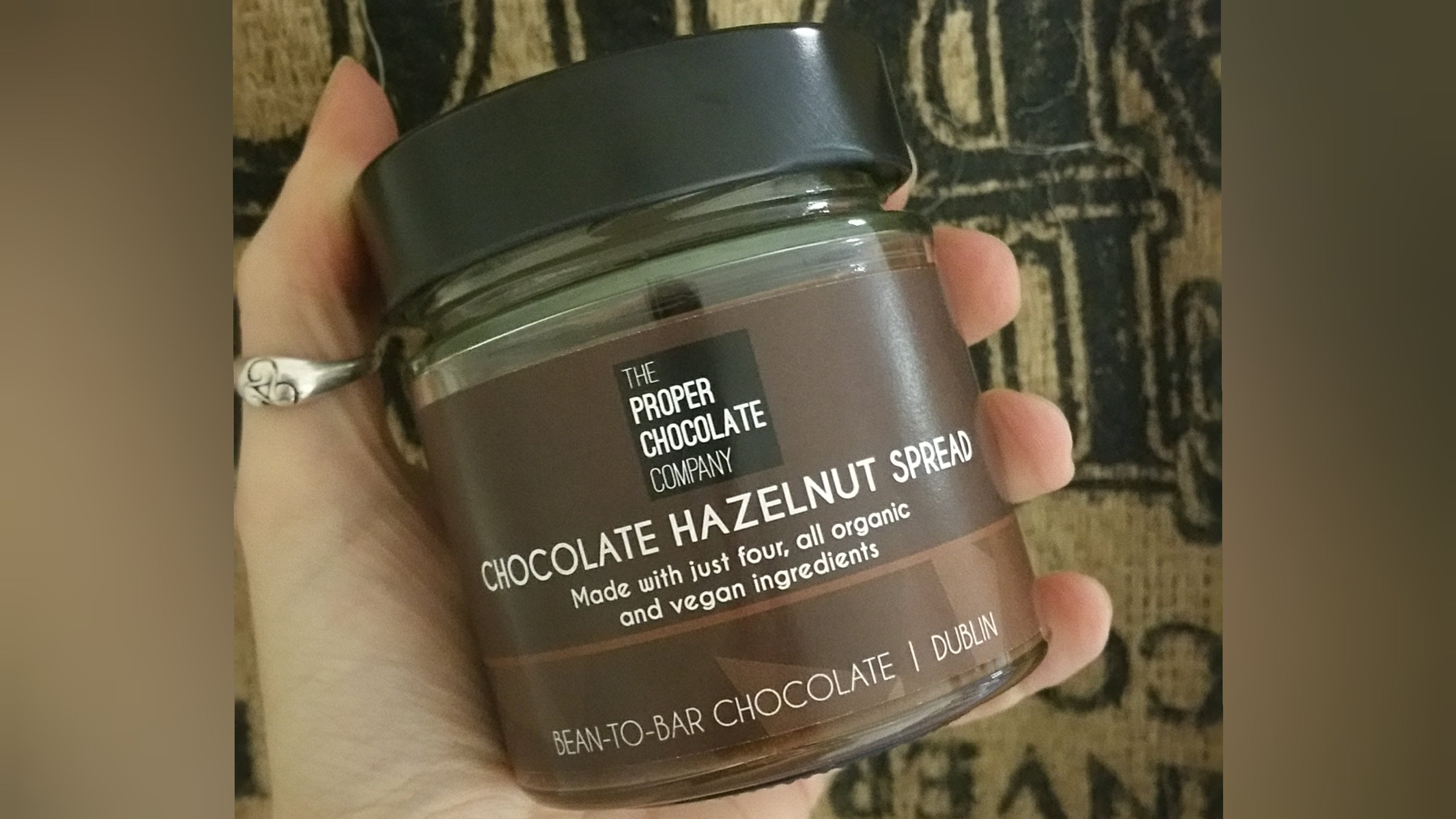 Chocolate Hazelnut Spread - 4 ingredients, all organic