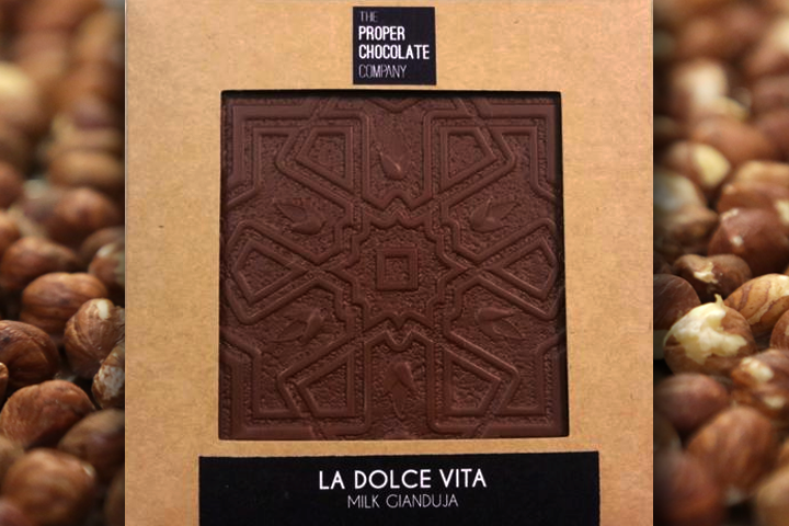 La Dolce Vita [Milk Chocolate and Hazelnut Gianduja]