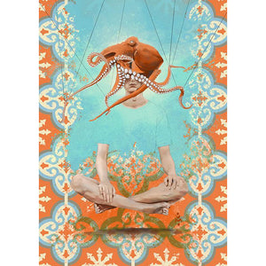 'Feel Free' by Yassine Mourit. Limited edition fine art print